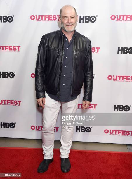 Matthew Weiner attends the 2019 Outfest Los Angeles LGBTQ Film Festival Screening Of Sell By at TCL Chinese Theatre on July 20 2019 in Hollywood...