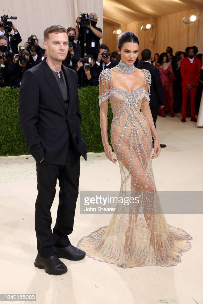 Matthew Williams and Kendall Jenner attend The 2021 Met Gala Celebrating In America: A Lexicon Of Fashion at Metropolitan Museum of Art on September...