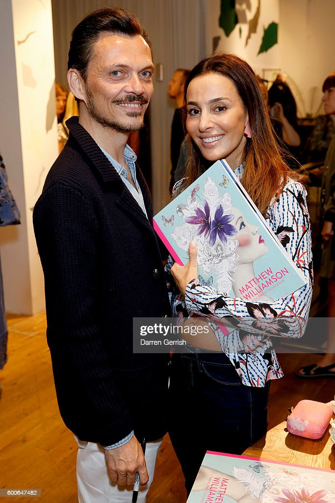 "Laurence King Publishing Celebrate The Release Of ""Matthew Williamson: Fashion, Print & Colouring"" Books : News Photo"
