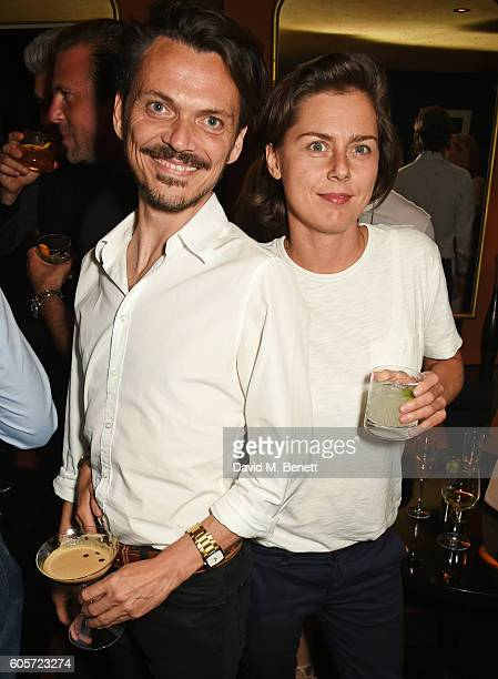 Matthew Williamson attends as Blakes hotel celebrates the launch of Blakes Below a luxury bar and lounge designed by Anouska Hempel on September 14...
