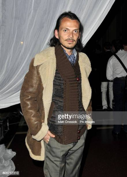 Matthew Williamson in the Tapis Rouge bar during the opening night of Varekai by the Cirque Du Soleil at Royal Albert Hall in London