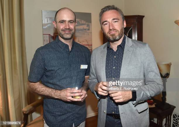 BAFTLA COO Matthew Wiseman and British Consul General in LA Michael Howells attend the BAFTALA Summer Garden Party at The British Residence on August...