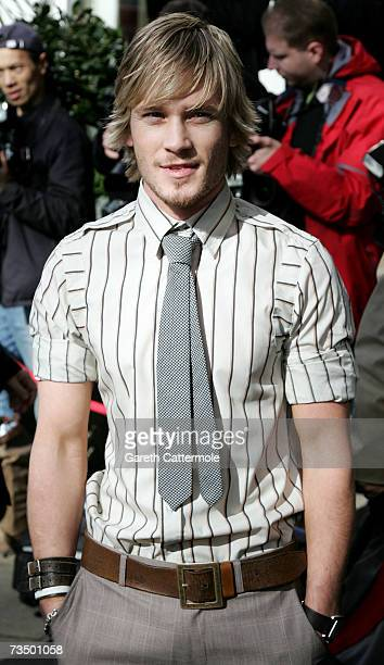 Matthew Wolfenden arrives at the TRIC Awards 2007 held at The Grosvenor House Hotel on March 6 2007 in London