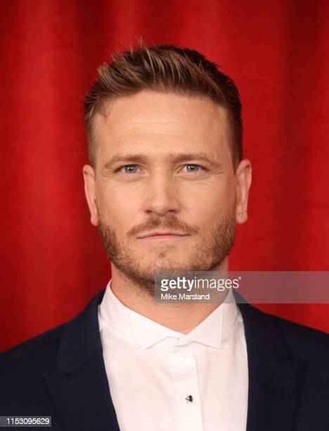Matthew Wolfenden attends the British Soap Awards at The Lowry Theatre on June 01 2019 in Manchester England
