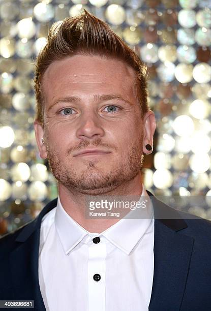 Matthew Wolfenden attends the British Soap Awards held at the Hackney Empire on May 24 2014 in London England