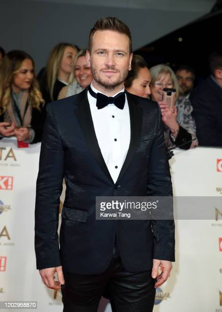 Matthew Wolfenden attends the National Television Awards 2020 at The O2 Arena on January 28 2020 in London England