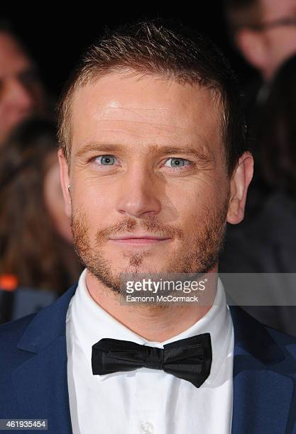 Matthew Wolfenden attends the National Television Awards at 02 Arena on January 21 2015 in London England
