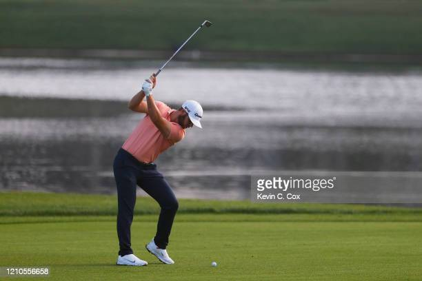 Matthew Wolff of the United States plays a shot on the 11th hole during the first round of the Arnold Palmer Invitational Presented by MasterCard at...