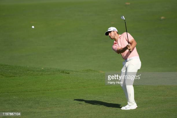 Matthew Wolff of the United States plays a shot on the 12th hole during the final round of the Sentry Tournament Of Champions at the Kapalua...
