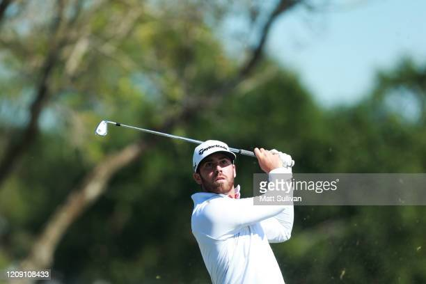 Matthew Wolff of the United States plays his shot from the fifth tee during the first round of the Honda Classic at PGA National Resort and Spa...
