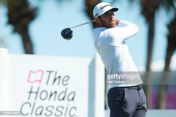 Matthew Wolff of the United States plays his shot from the fourth tee during the first round of the Honda Classic at PGA National Resort and Spa...