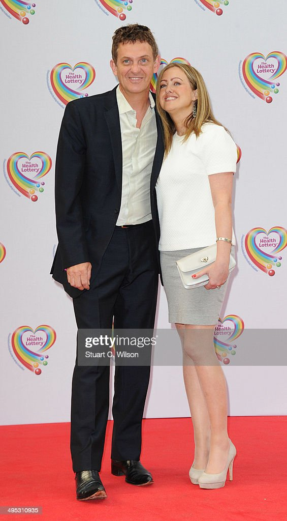 Matthew Wright (L) and Amelia Wright attends the Health Lottery tea party at The Savoy Hotel on June 2, 2014 in London, England.