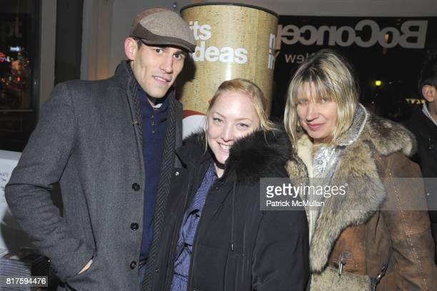 Matthew Youmans Sara Weissler and Irina Bereslavska attend 8TH ANNUAL BoCONCEPT/KOLDESIGN HOLIDAY PARTY at BoConcept on December 14 2010 in New York...