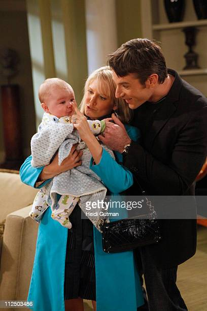 LIVE Matthew/Nicholas Urbanowicz Terri Conn and Tom Degnan in a scene that begins airing the week of May 2 2011 on Walt Disney Television via Getty...