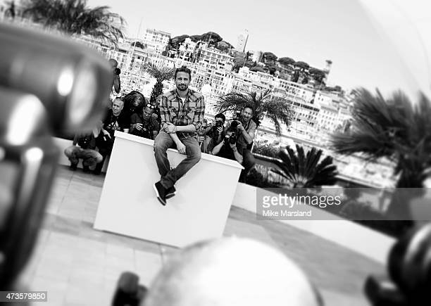 Matthias Achoenaerts attends the Disorder photocall during the 68th annual Cannes Film Festival on May 16 2015 in Cannes France