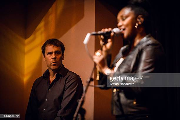 Matthias Arfman and Onejiru of Matthias Arfmann presents Ballet Jeunesse perform live on stage during Yellow Lounge organized by recording label...