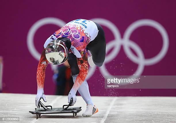 Matthias AUT Skeleton Männer men olympic winter games 2014 sochi olympische Spiele winterspiele in Sochi sotchi 2014