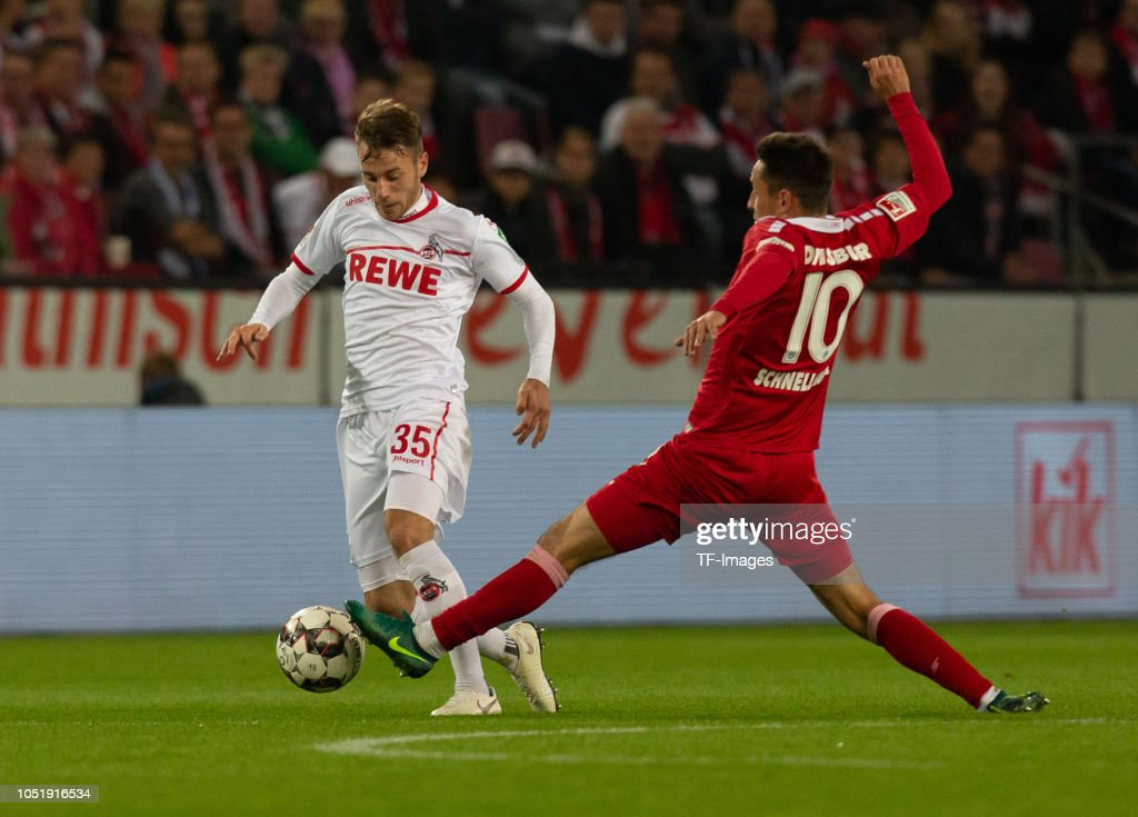 1. FC Koeln v MSV Duisburg - Second Bundesliga : Nachrichtenfoto