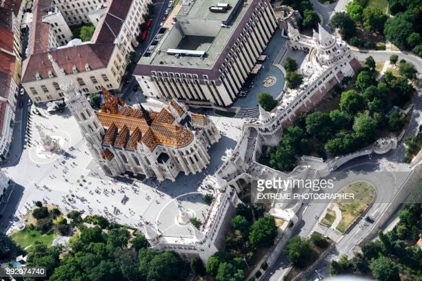 igreja de matias em budapeste - budapeste - fotografias e filmes do acervo
