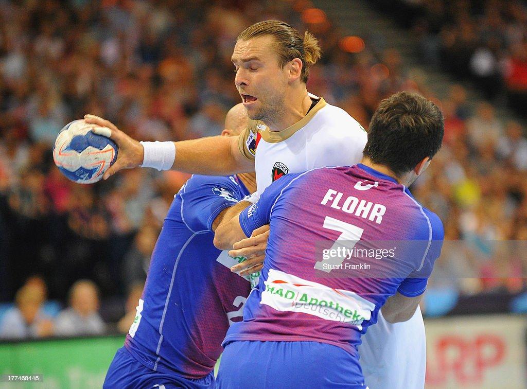 HSV Handball v Fuechse Berlin - Champions League Play off