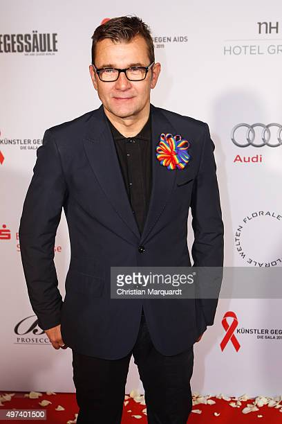 Matthias Freihof attends the Artists Against Aids Gala 2015 at Stage Theater des Westens on November 16 2015 in Berlin Germany
