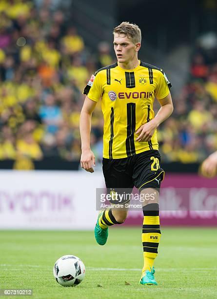 Matthias Ginter of Borussia Dortmund during the Bundesliga match between Borussia Dortmund and SV Darmstadt 98 at Signal Iduna Park on September 17...