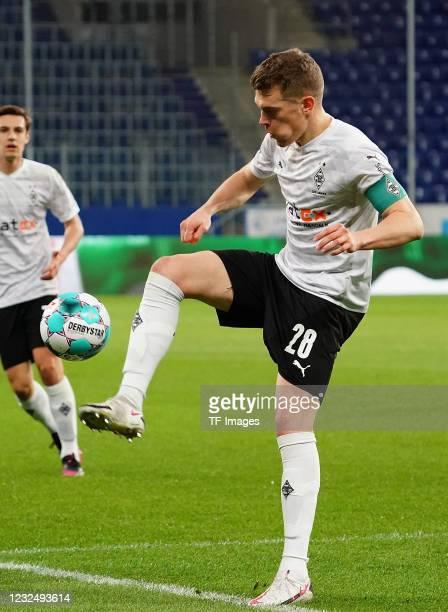 Matthias Ginter of Borussia Moenchengladbach during the Bundesliga match between TSG Hoffenheim and Borussia Moenchengladbach at PreZero-Arena on...