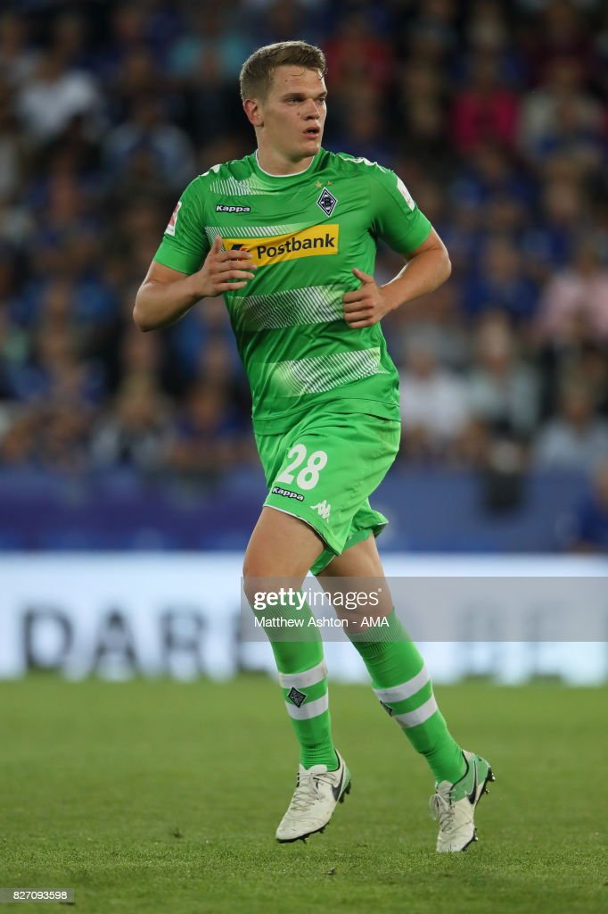 Matthias Ginter of Borussia Moenchengladbach during the preseason friendly match between Leicester City and Borussia Moenchengladbach at The King Power Stadium on August 4, 2017 in Leicester, United Kingdom.