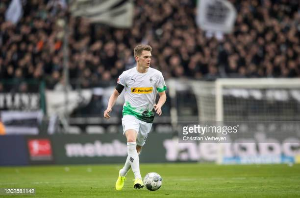 Matthias Ginter of Borussia Moenchengladbach in action during the Bundesliga match between Borussia Moenchengladbach and TSG 1899 Hoffenheim at...