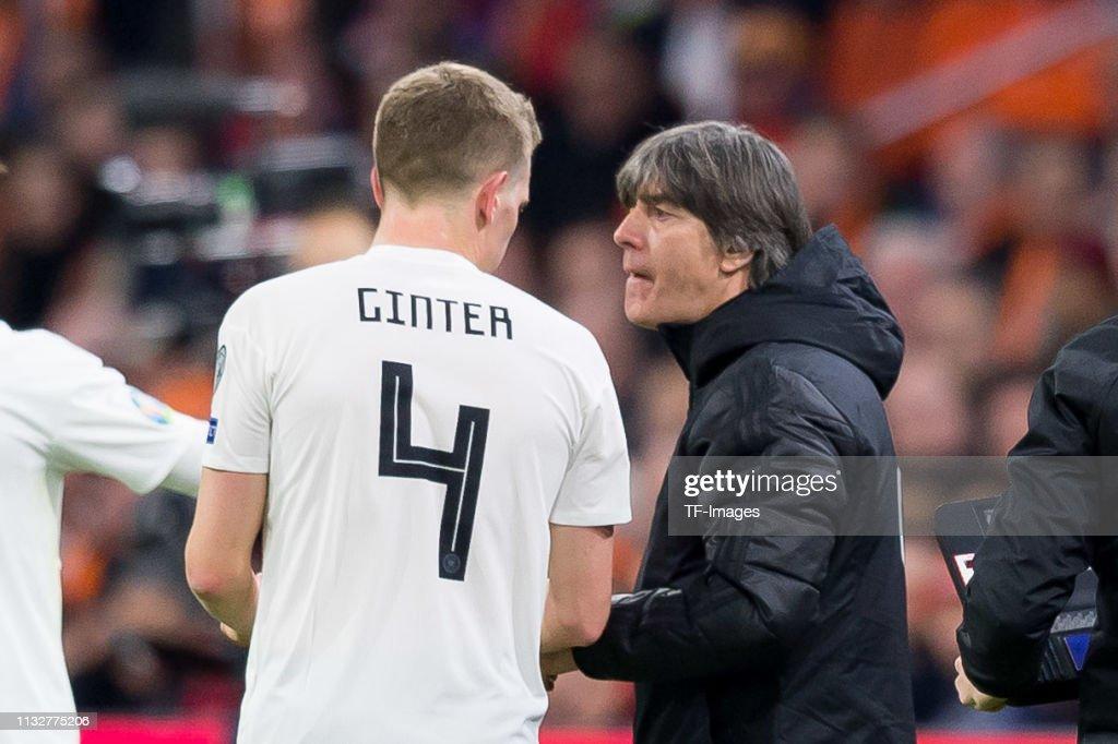 Netherlands v Germany - UEFA EURO 2020 Qualifier : News Photo