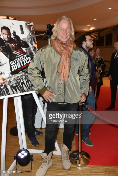 Matthias Hues during the 'Ultimate Justice' premiere at Kino Alexa on December 14 2018 in Berlin Germany