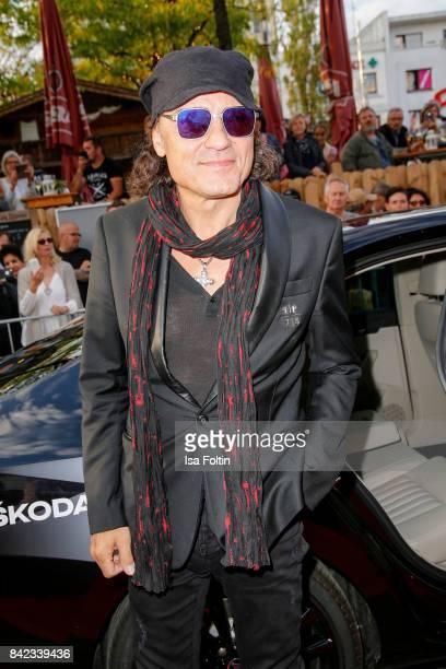 Matthias Jabs drummer of the band 'Scorpions' attends the 'Nacht der Legenden' at Schmidts Tivoli on September 3 2017 in Hamburg Germany