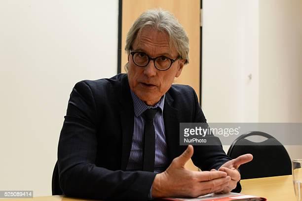 Matthias KollatzAhnen Senator of Finance of Berlin SPD former PricewaterhouseCoopers and European Investment Bank manager in his Ministry the Senat...