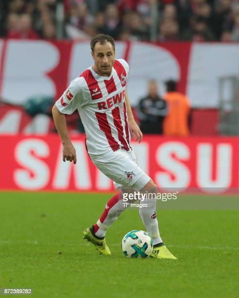 Matthias Lehmann of FC Koeln controls the ball during the Bundesliga match between 1 FC Koeln und TSG 1899 Hoffenheim at RheinEnergieStadion on...