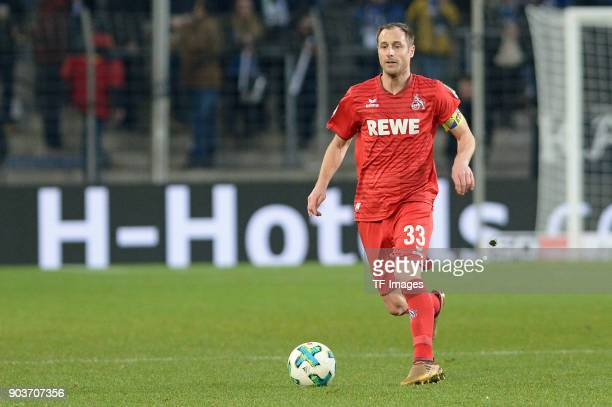 Matthias Lehmann of Koeln controls the ball during the HHotelscom Wintercup match between Hertha BSC and 1 FC Koeln at SchuecoArena on January 6 2018...