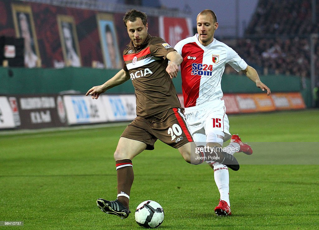 FC St. Pauli v FC Augsburg - 2. Bundesliga