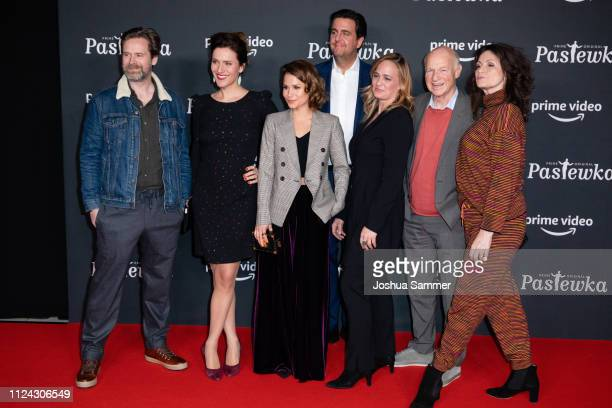 Matthias Matschke, Bettina Lamprecht, Cristina do Rego, Bastian Pastewka, Sonsee Neu, Dietrich Hollinderbaeumer and Sabine Vitua attend the premiere...