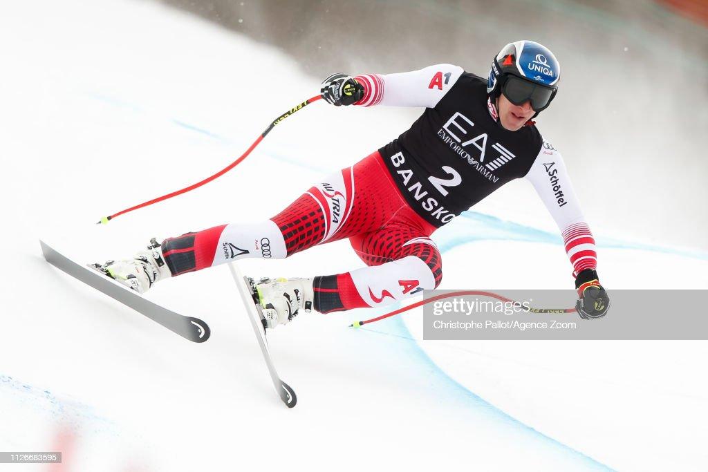 BGR: Audi FIS Alpine Ski World Cup - Men's Alpin Combined