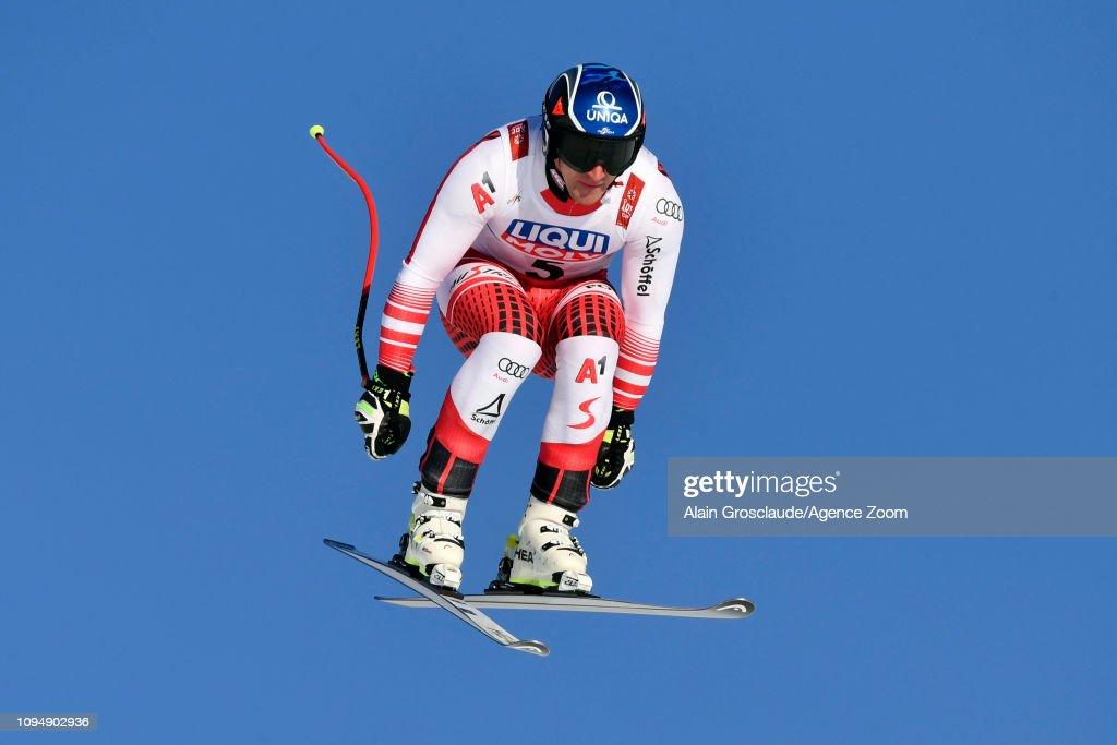 SWE: FIS World Ski Championships - Men's and Women's Downhill Training