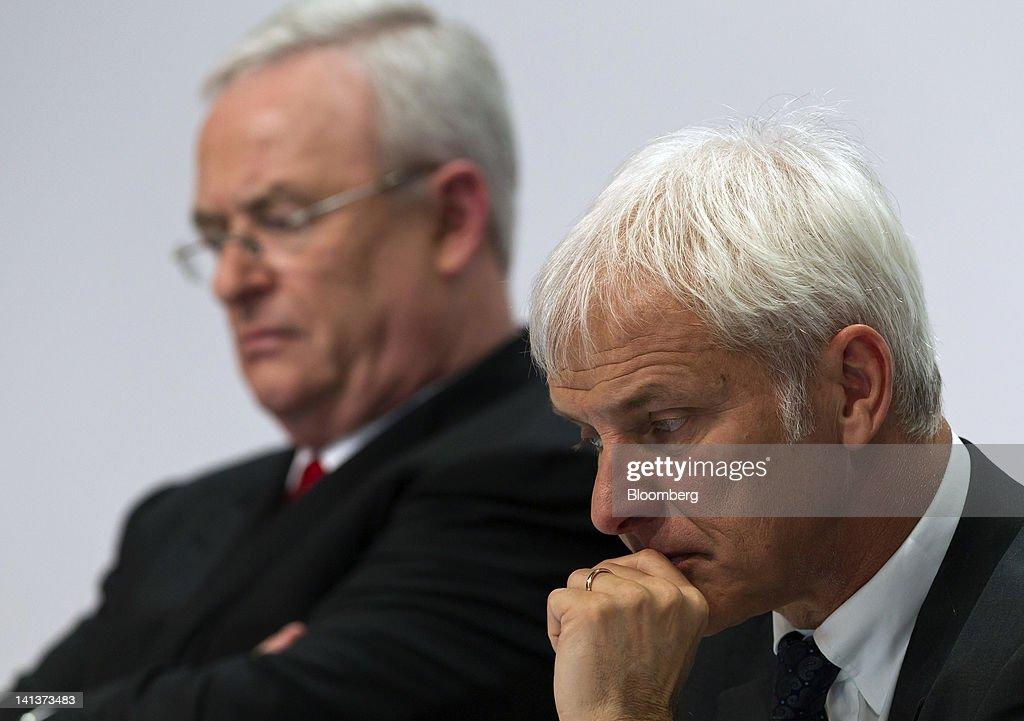 Porsche Profit Burdened By Scrapped VW Merger : News Photo