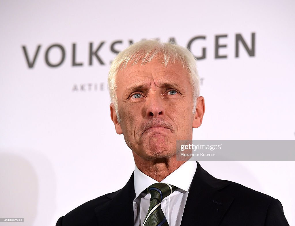 Volkswagen Board Meets To Decide On New CEO : News Photo