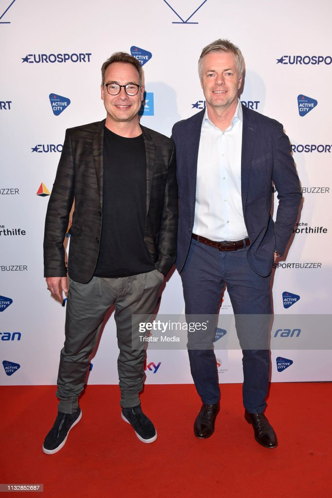 DEU: German Sports Journalism Award In Hamburg