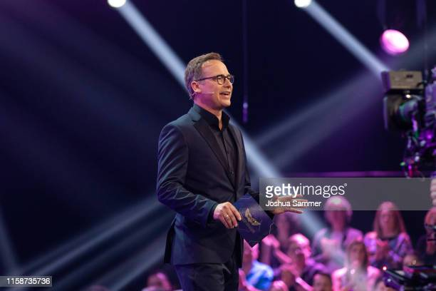 Matthias Opdenhoevel during the first liveshow of The Masked Singer at Coloneum on June 27 2019 in Cologne Germany