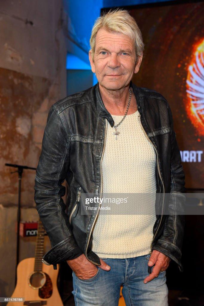 Matthias Reim during the Rock Legenden Press Conference at Secret Garden on October 4, 2017 in Berlin, Germany.