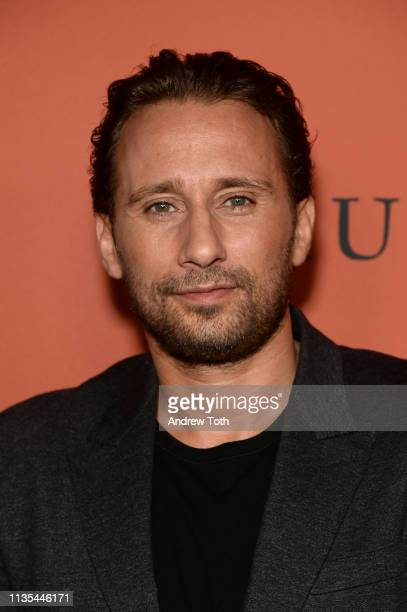 Matthias Schoenaerts attends premiere of Focus Features' The Mustang at ArcLight Hollywood on March 12 2019 in Hollywood California