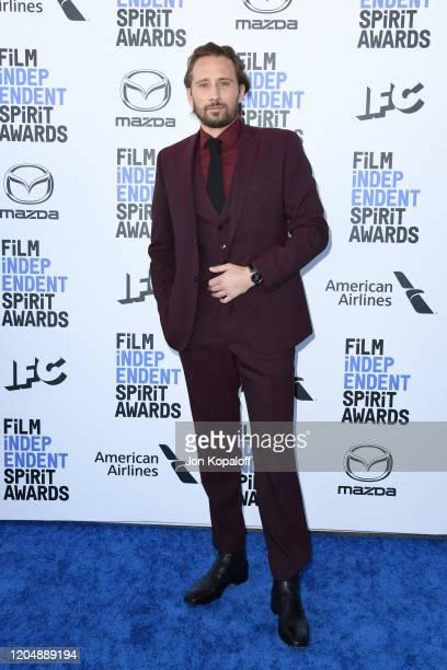 Matthias Schoenaerts attends the 2020 Film Independent Spirit Awards on February 08 2020 in Santa Monica California