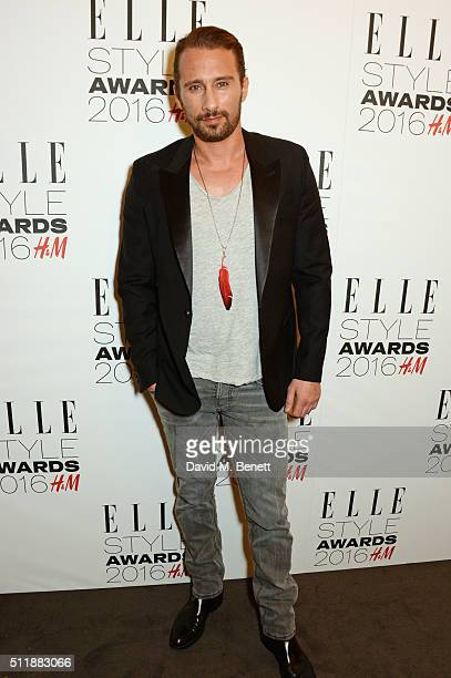 Matthias Schoenaerts attends The Elle Style Awards 2016 on February 23 2016 in London England