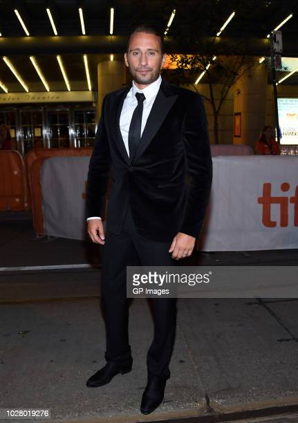 Matthias Schoenaerts attends the Kursk premiere during 2018 Toronto International Film Festival at Princess of Wales Theatre on September 6 2018 in...
