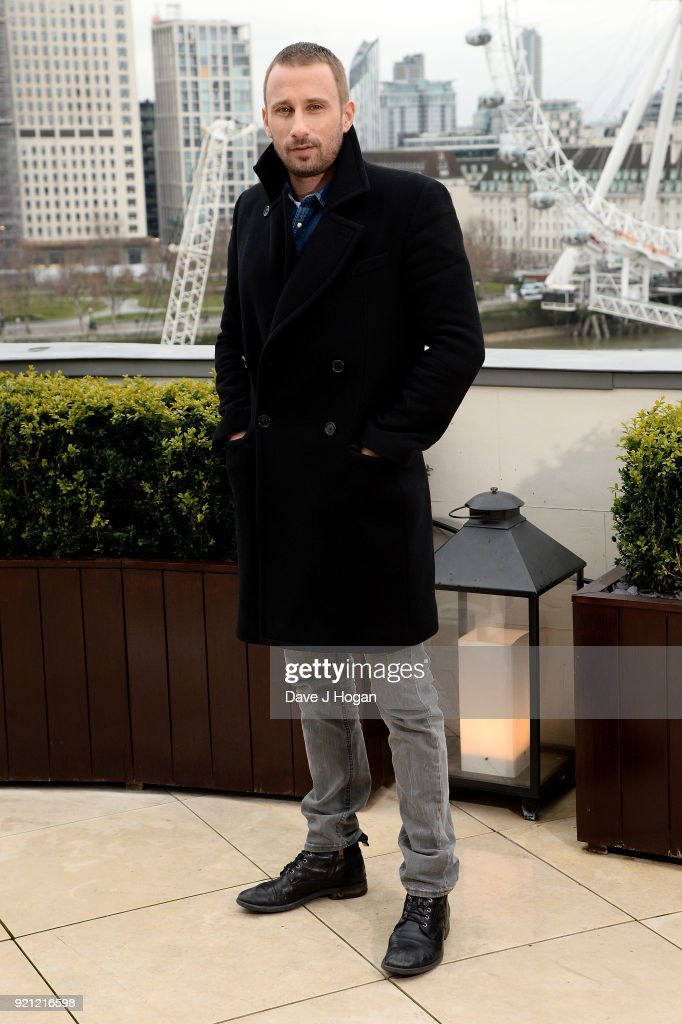 Matthias Schoenaerts attends the 'Red Sparrow' photocall at The Corinthia Hotel on February 20, 2018 in London, England.