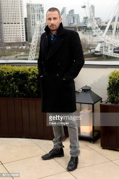 Matthias Schoenaerts attends the 'Red Sparrow' photocall at The Corinthia Hotel on February 20 2018 in London England